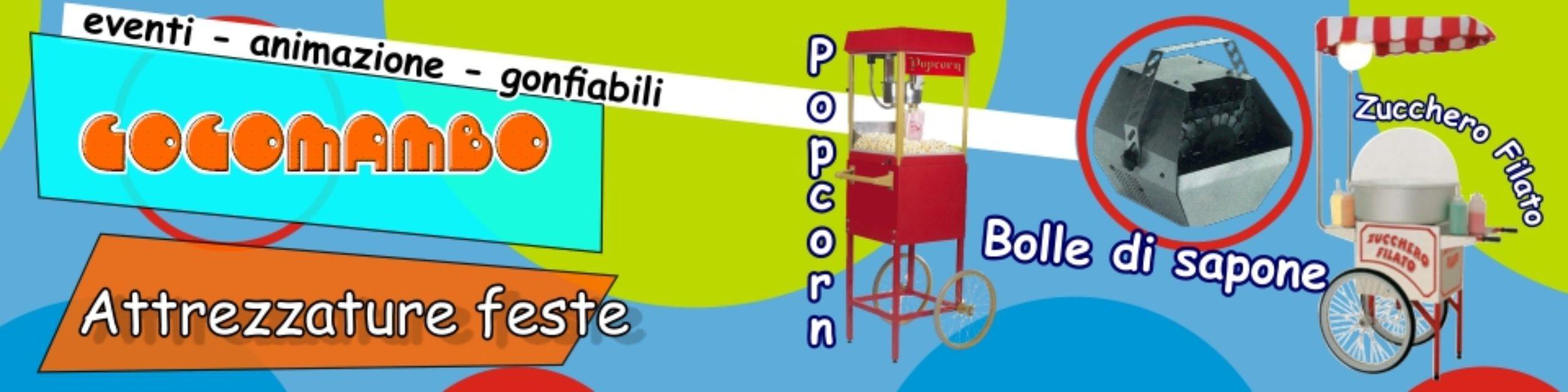Animazione Gonfiabili Sicilia Calabria